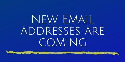 New Email Addresses